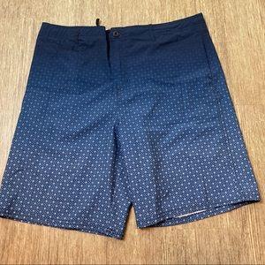 First Wave Men's Blue Pattern Swimwear